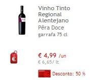 Vinhos 50% - Alentejano Pêra Doce
