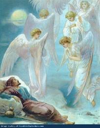 Genesis 28 12 - Jacob sonha com os anjos de Deus