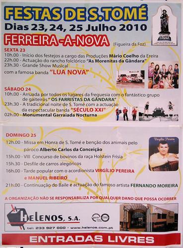 S. Tomé Ferreira-A-Nova 2010