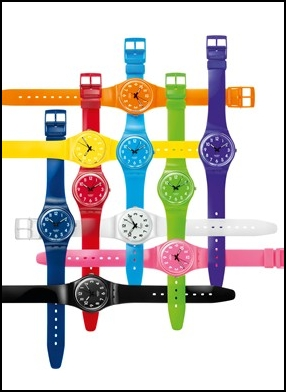 Swatch Colour Codes