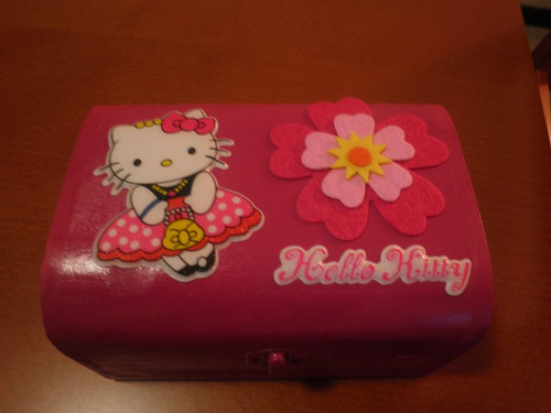 Caixinha - Raquel Hello Kitty