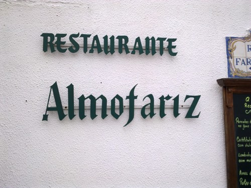 Restaurante Almofariz no Magoito