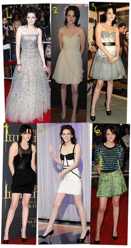 Kristen quando se trata de uma festa ou opta por um vestido simples ou algo que dê nas vistas mas nem sempre pela positiva que é o caso da foto nº