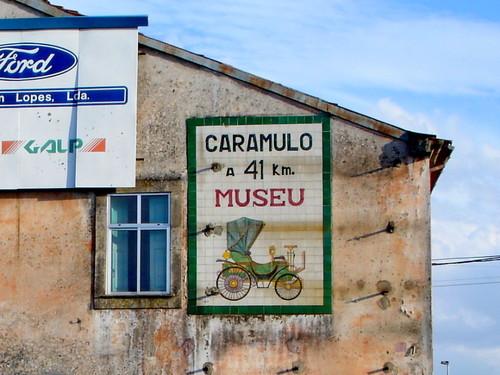 Caramulo, 41 km. Museu (Viseu,  2006)