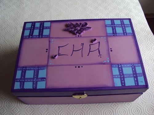 A primeira caixa country: para a Sílvia