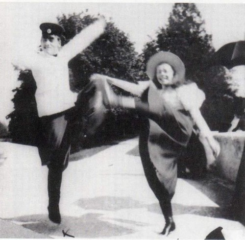 Miguel Alexandrovich e Olga Alexandrovna Romanov