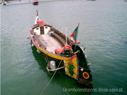 Barco em Portimão