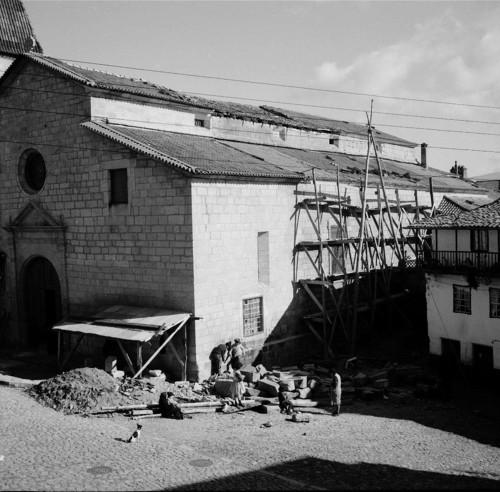 Igreja Matriz em obras