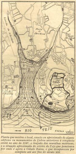 Esteiro do Tejo em 1147 (Castilho,