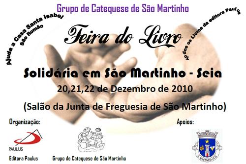 Feira do Livro Solidária - S. Martinho