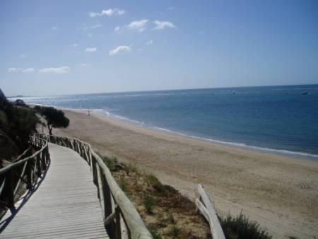 Praia de bandeira azul El Portil