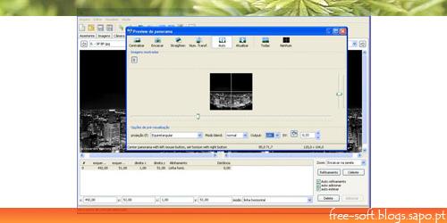 Criar fotos panoramicas com o Hugin