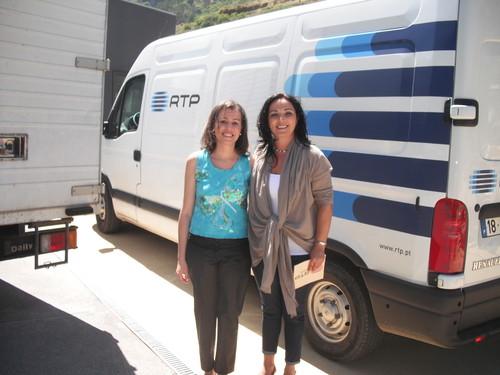 Xana Abreu e Carina Freitas Julho 2010