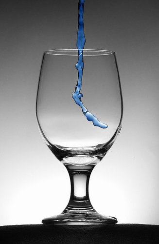 copo de água