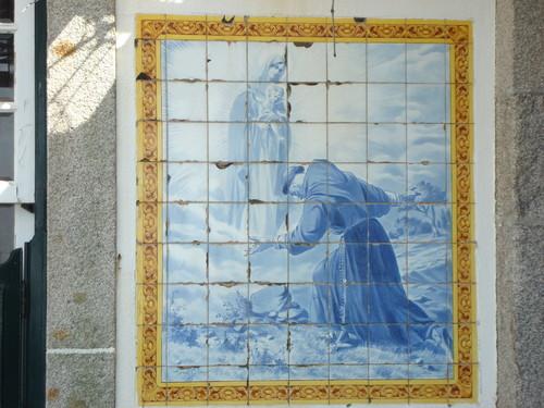 Azulejos no antigo restaurante Garrafao - 2