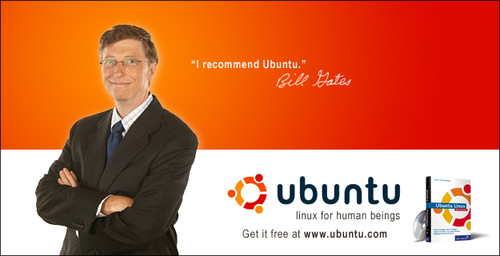 Bill Gates recommends Ubuntu