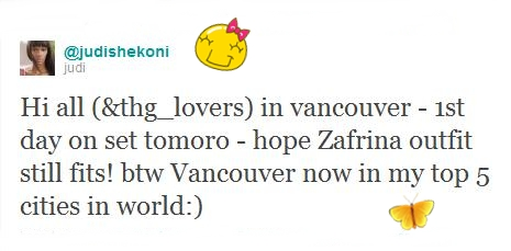 Judi Shekoni actualiza o seu twitter - Twilight Portugal
