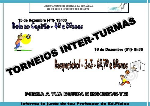TORNEIOS INTER-TURMAS