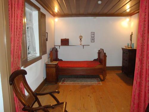 quarto de dormir na casa de Seide - Camilo Castelo Branco