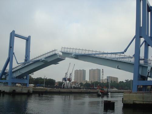 A nova Ponte Movel do Porto de Leixoes