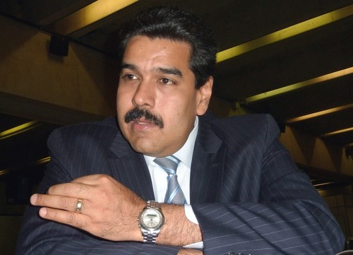 Ministro Maduro Venezuela