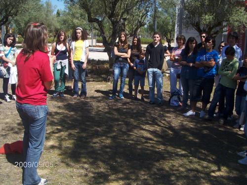 Crianças e jovens de Avintes visitam Centro de Interpretação da Batalha de Aljubarrota - 2009