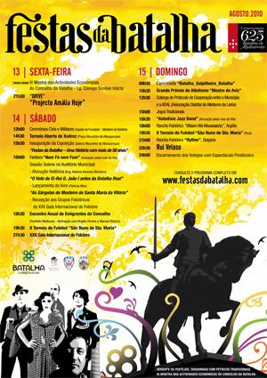 Programa das festas