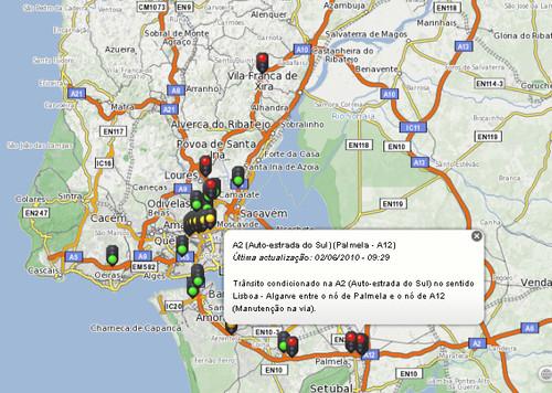 Transito - SAPO Mapas