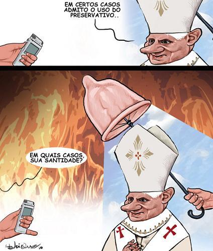Uma tirada papal que ainda vai motivar muita e muita tinta...