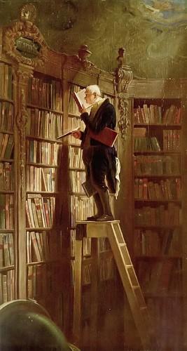 Der Bücherwurm (