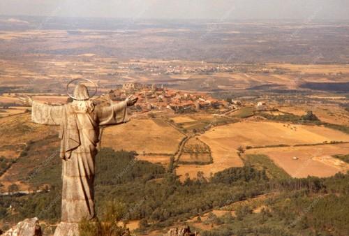 Vista sobre Castelo Rodrigo - Foto HS