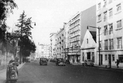 Rua Marquês de Sá da Bandeira, Lisboa (A. Goulart, 196...)