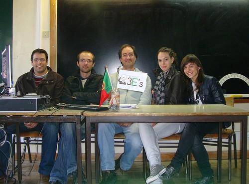 A equipa do Projeto 3E's em 2010/11