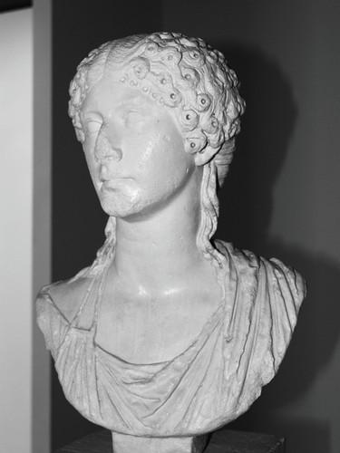 Busto de Agripina (Milreu, 2010)