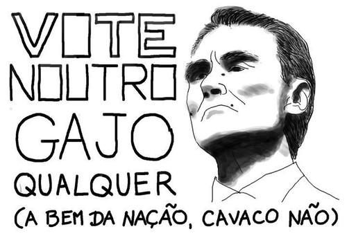 Cavaco Não, vote noutro qualquer