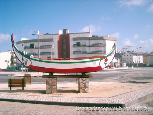 Barco Meia Lua - Praia do Pedrógão