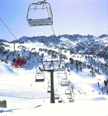 esquiar em Baqeira-Beret