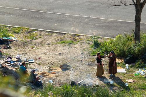 Ciganas romenas, Areeiro, 2010