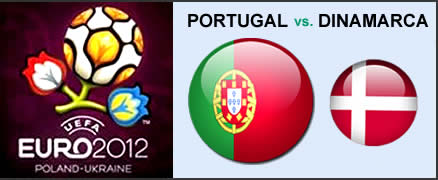 Portugal x Dinamarca Euro 2012