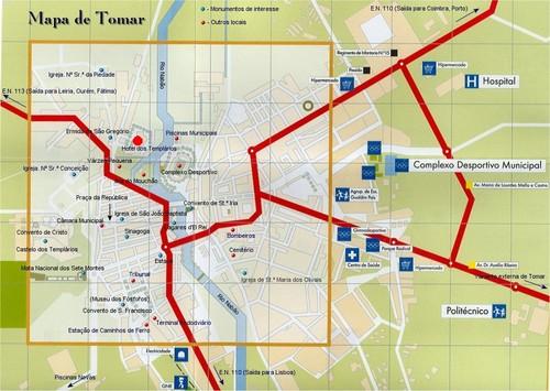 Map Tomar 1