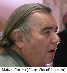Matías Cortés, Prisa
