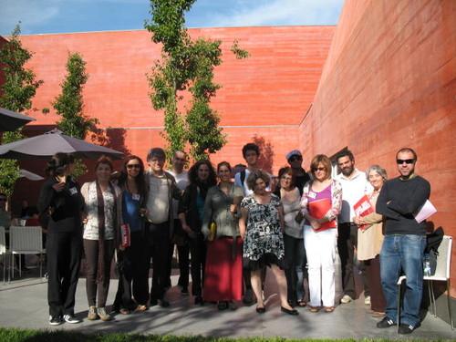 Participantes no Workshop com Gonçalo M.Tavares