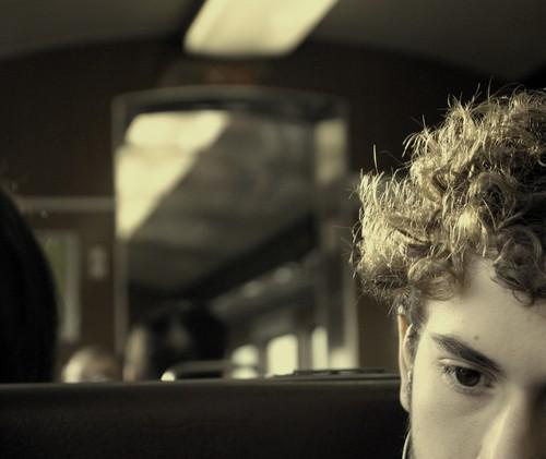 eu, no comboio