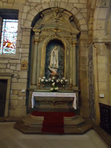 Altar de N.ª Sr.ª de Fátima, Igreja Matriz, Chaves