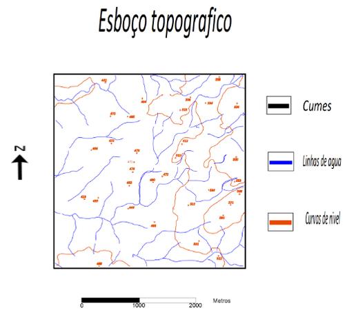 Carta topografica do Abel Moreira
