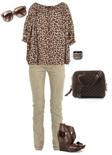 Look padrão animal - Look chic e fácil de se fazer II