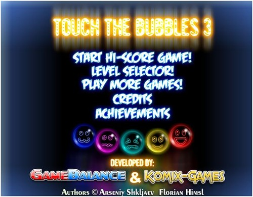 jogo das bolhas