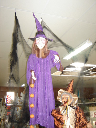 Bruxa de pendurar com 1,50mt