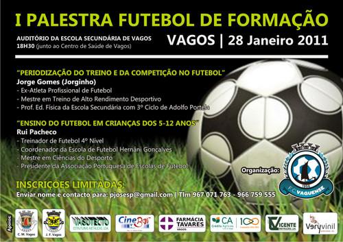I Palestra Futebol De Formação Futebol Clube Vaguense