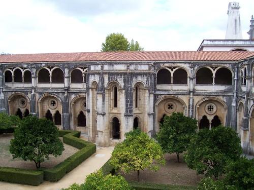 Claustros D. Dinis - Mosteiro de Alcobaça